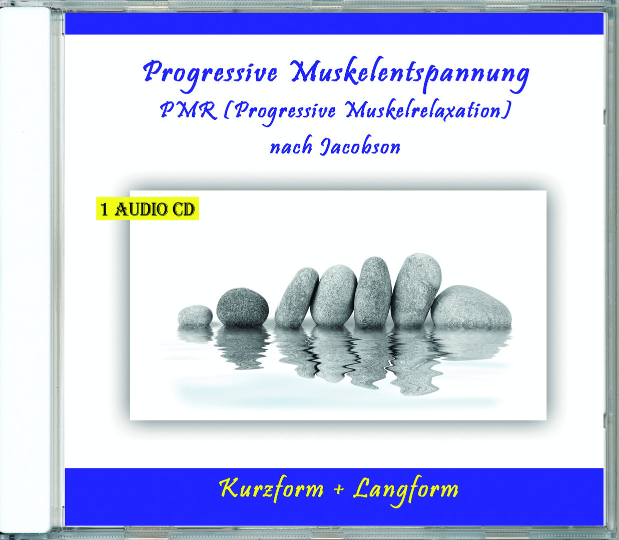 Progressive Muskelentspannung PMR (Progressive Muskelrelaxation) nach Jacobson - Audio-CD